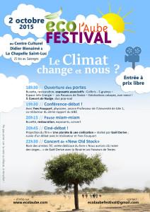 Soirée Le climat change, et nous ? (2015)