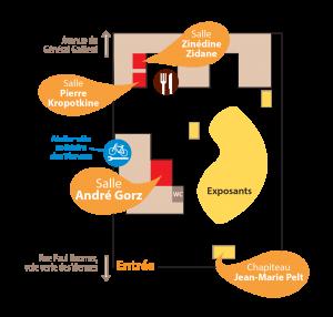 Plan du site - Maison des Viennes à Sainte-Savine