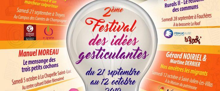 2ème Festival des idées gesticulantes